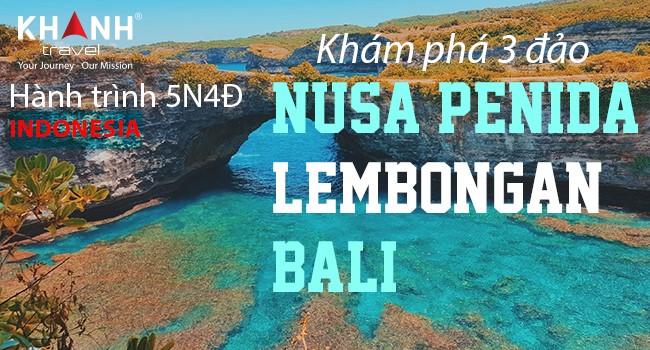 Hành trình khám phá 3 đảo Indonesia