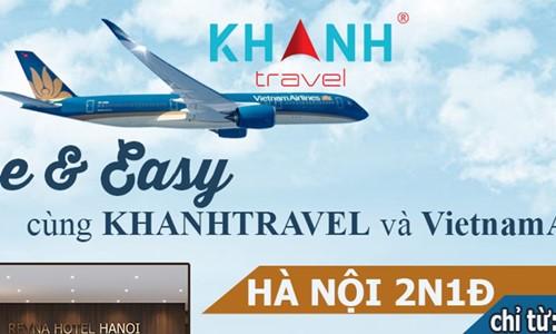 Free & easy cùng KhanhTravel và VietnamAirline