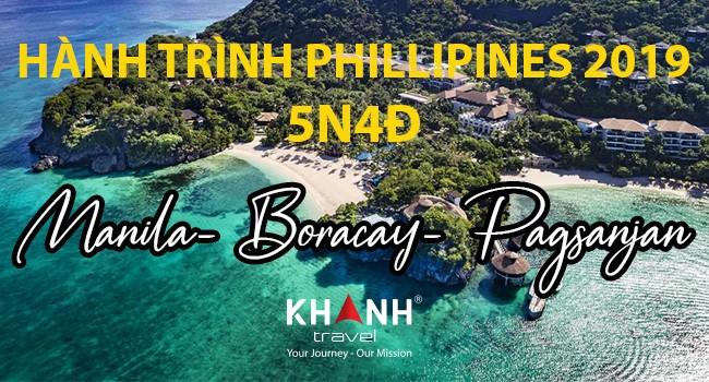 HÀNH TRÌNH KHÁM PHÁ PHILIPPINES